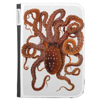 Octopus Macropus Atlantic White Spotted Octopus Case For Kindle