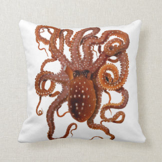 Octopus Macropus Atlantic White Spotted Octopus Cushions
