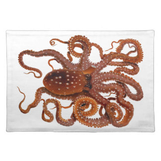 Octopus Macropus Atlantic White Spotted Octopus Place Mats