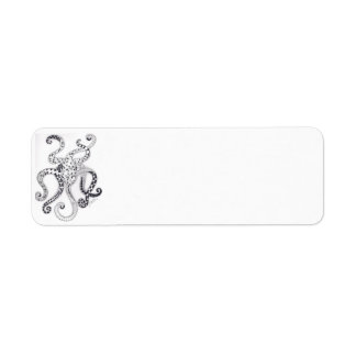 Octopus Mailing Label