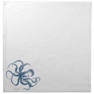 octopus napkin