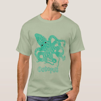 Octopus Nautical Creature Graphic T-Shirt