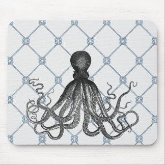 Octopus  - Nautical Mouse Mat