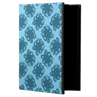 Octopus On Blue Pattern iPad Air Case