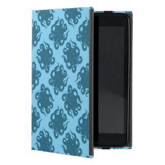 Octopus On Blue Pattern iPad Mini Case