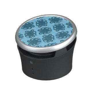 Octopus On Blue Pattern Speaker