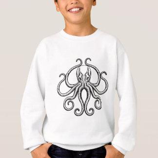 Octopus or Squid Illustration Sweatshirt