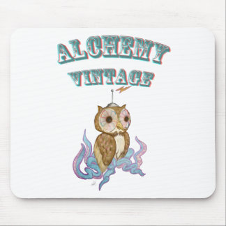 Octopus Owl Robot Mouse Pad