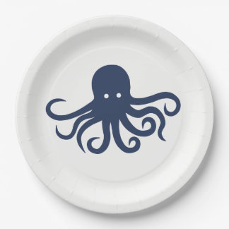 Octopus Paper Plates