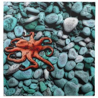Octopus Pebbles Napkin