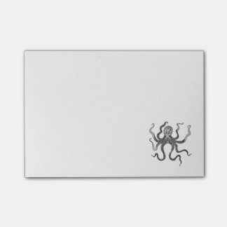 Octopus Post-it Notes
