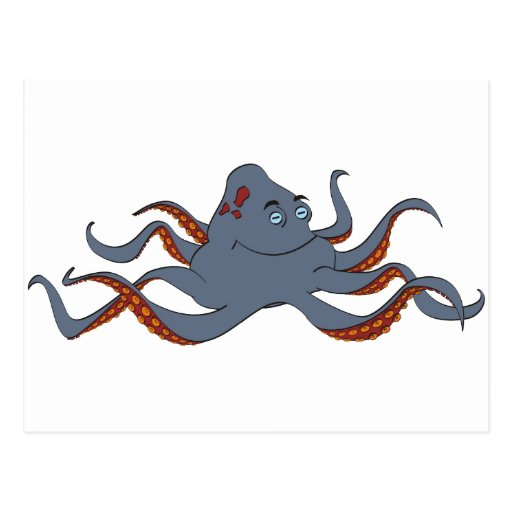 Octopus Post Card