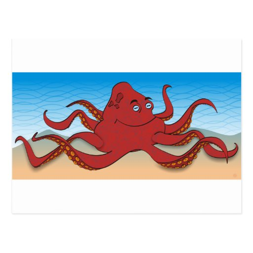Octopus Post Cards
