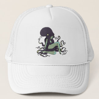 Octopus Queen Trucker Hat