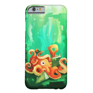 Octopus Reading iPhone 6 case