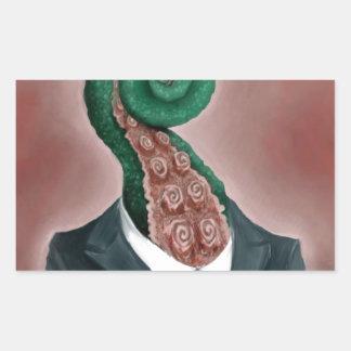 Octopus Rectangular Sticker