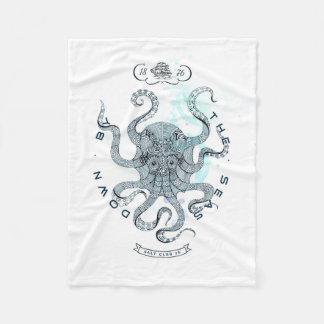Octopus - Salt Club 76 - Down by the Sea Fleece Blanket
