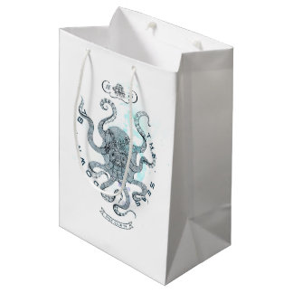 Octopus - Salt Club 76 - Down by the Sea Medium Gift Bag