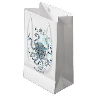 Octopus - Salt Club 76 - Down by the Sea Small Gift Bag