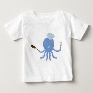 Octopus shef baby T-Shirt