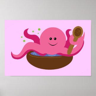Octopus Soup Print
