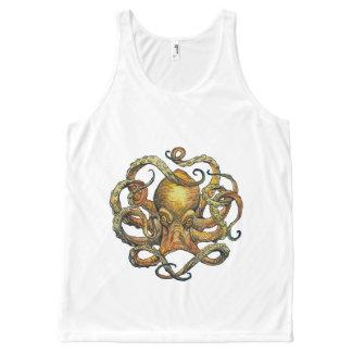 Octopus Tank Top All-Over Print Tank Top