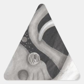 Octopus Triangle Sticker