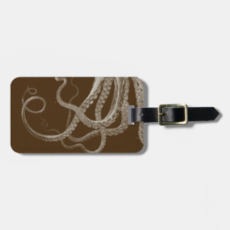 Octopus Triptych Luggage Tag