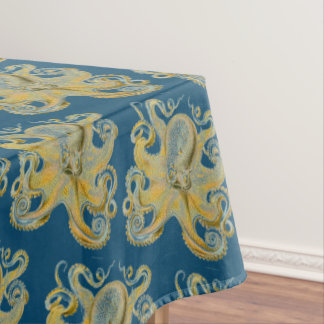Octopus Vulgaris by Ernst Haeckel Tablecloth