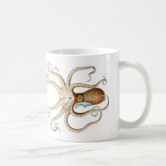 Octopus vulgaris coffee mug