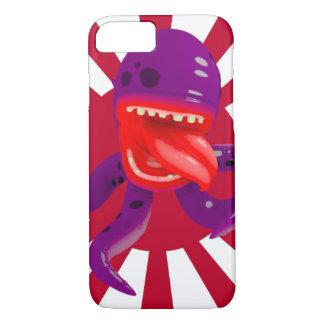 Octopus w/Japanese rising sun iPhone 7 Case