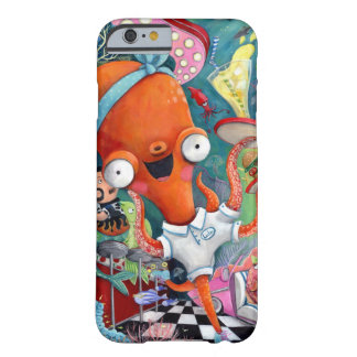 Octopus Waitress in Underwater Road Bar Barely There iPhone 6 Case