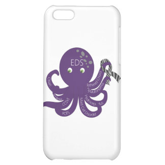 Octopus White Back Ground iPhone 5C Cases