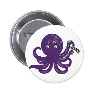 Octopus White Back Ground Pins