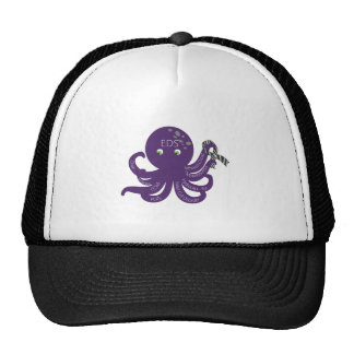 Octopus White Back Ground Trucker Hat