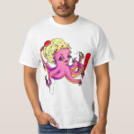 Octopus with Beauty Products Shirts