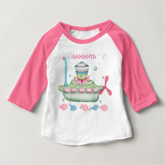 OCTOPUSS BABY 2 CUTE Baby American Apparel 3/4 S 4 Baby T-Shirt