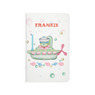 OCTOPUSS BABY CARTOON Pocket Journal 6 Blank