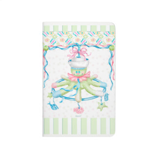 OCTOPUSS BABY CARTOON Pocket Journal Grid