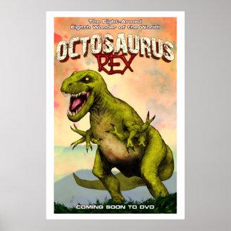 Octosaurus Rex Poster