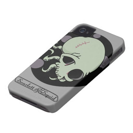 Octoskull Case for iPhone 4/4S Case-Mate iPhone 4 Case