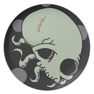 Octoskull Plate