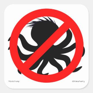 """OctoTrump """"No Groping Zone"""" Stickers"""