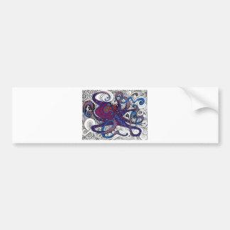 octpus! bumper sticker