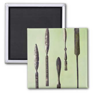 Oculist's instruments, c.270 square magnet