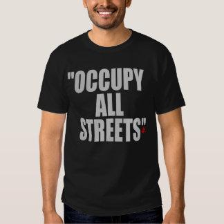 OCUPPY ALL STREETS TSHIRT
