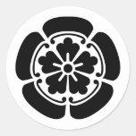 Oda, Japan Classic Round Sticker