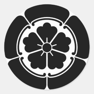 ODA-ONODERA CLASSIC ROUND STICKER