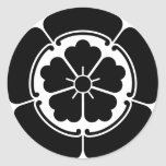 ODA-ONODERA ROUND STICKER