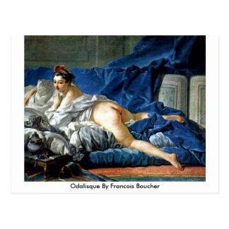 Odalisque By Francois Boucher Postcard